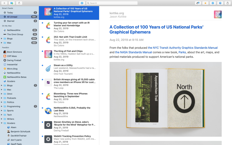 NetNewsWire 6 for Mac